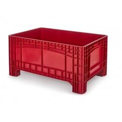 Palletbox rood 1200x800x580