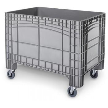 Verrijdbare Palletbox grijs 1200x800x950